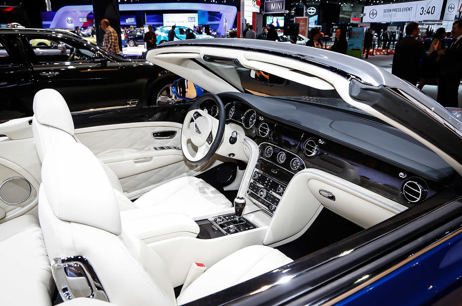 bentley grand convertible concept revealed autocar. Black Bedroom Furniture Sets. Home Design Ideas