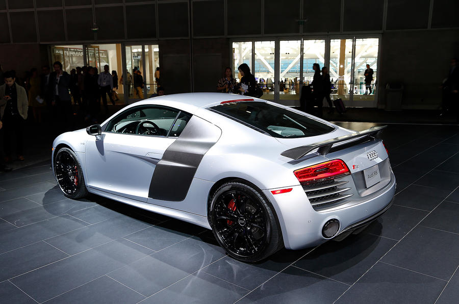 Audi R8 Competition edition breaks cover in LA