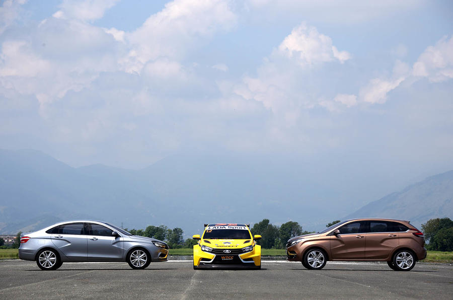 Lada reinvents itself with three bold new models