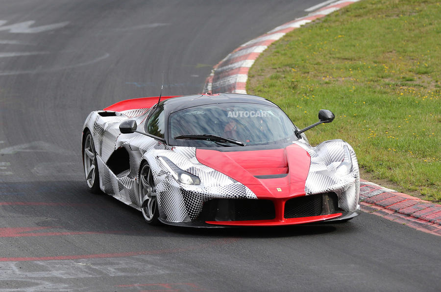 Ferrari LaFerrari spotted testing - latest pictures