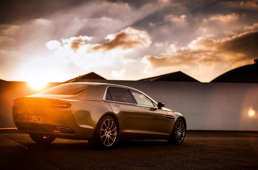 Aston Martin Lagonda Taraf rear