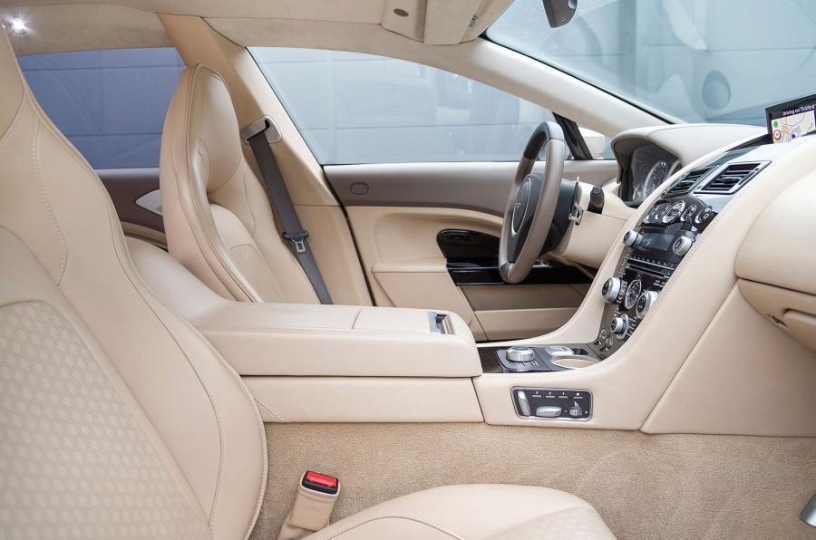 Aston Martin Lagonda Taraf's interior