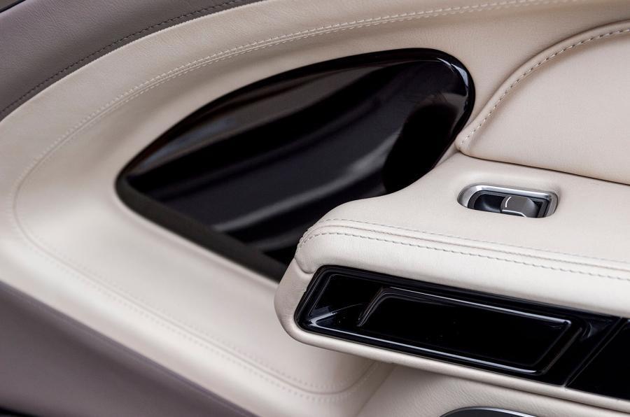 Aston Martin Lagonda Taraf's doorcards