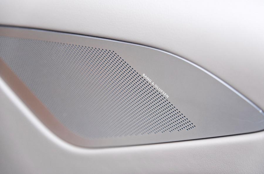 Aston Martin's B&O sound system