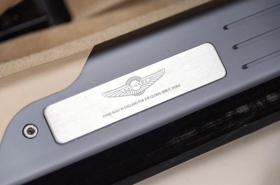 Aston Martin Lagonda plaque