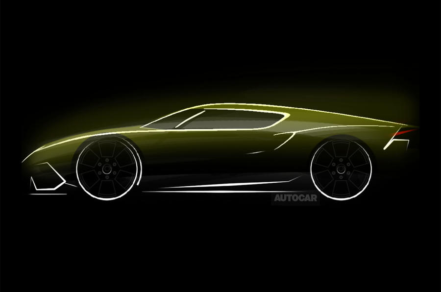 Lamborghini hints at new car for Paris motor show