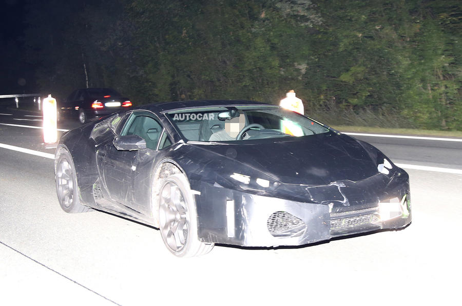 Lamborghini Gallardo replacement - first spy pics