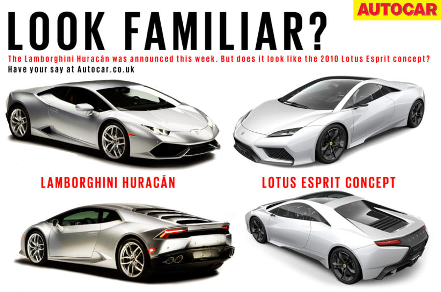 Does the Lamborghini Huracan look familiar?