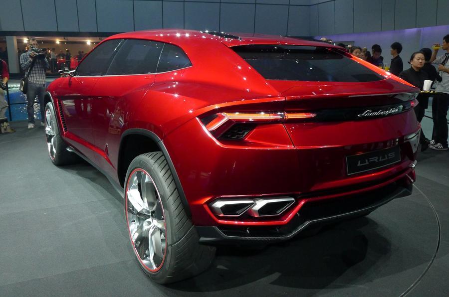 Beijing Motor Show 2012 Lamborghini Urus Suv Autocar