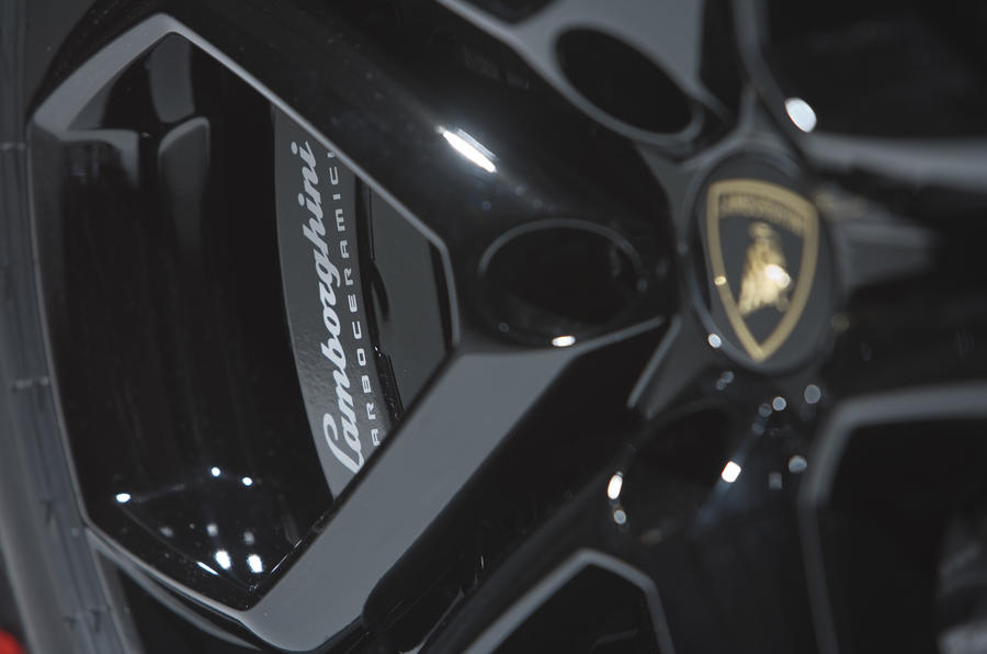 Geneva motor show: Lamborghini Aventador