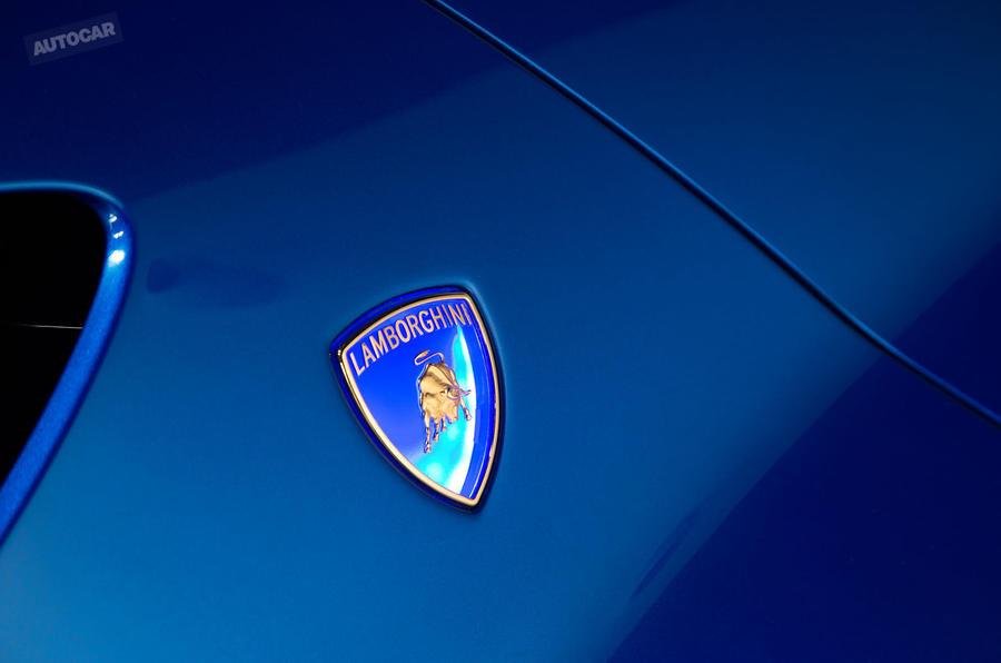 Lamborghini Asterion - exclusive studio pictures