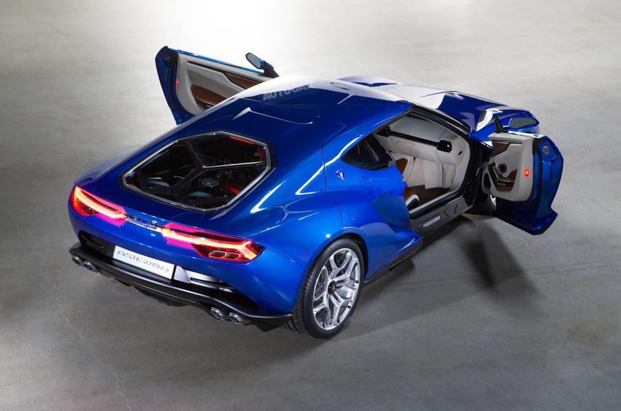 Lamborghini Asterion put on hold , plus studio pictures