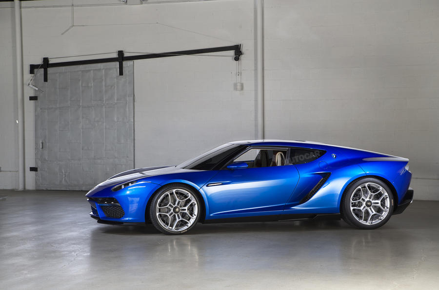 Lamborghini Asterion - exclusive studio pictures