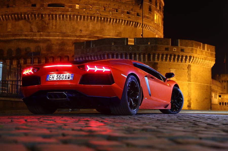 3.5 star Lamborghini Aventador