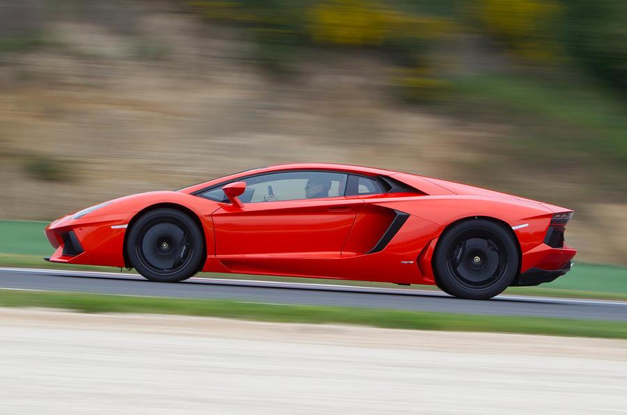 The 217mph Lamborghini Aventador