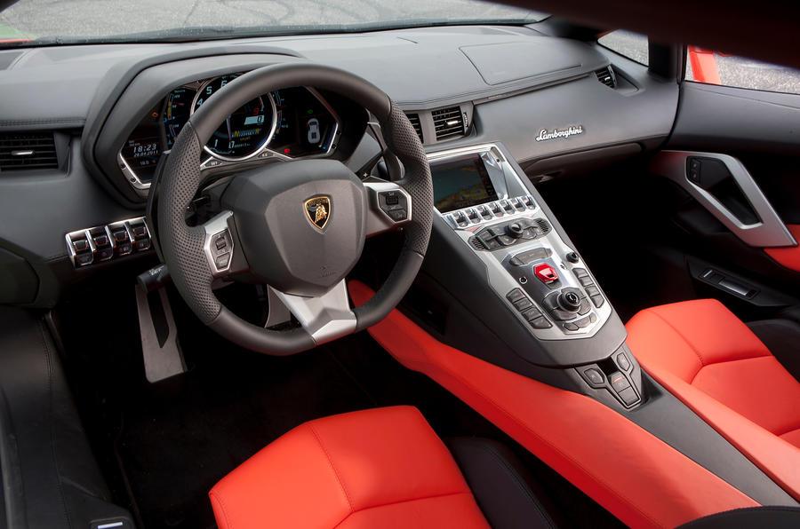 Lamborghini Aventador Interior Autocar