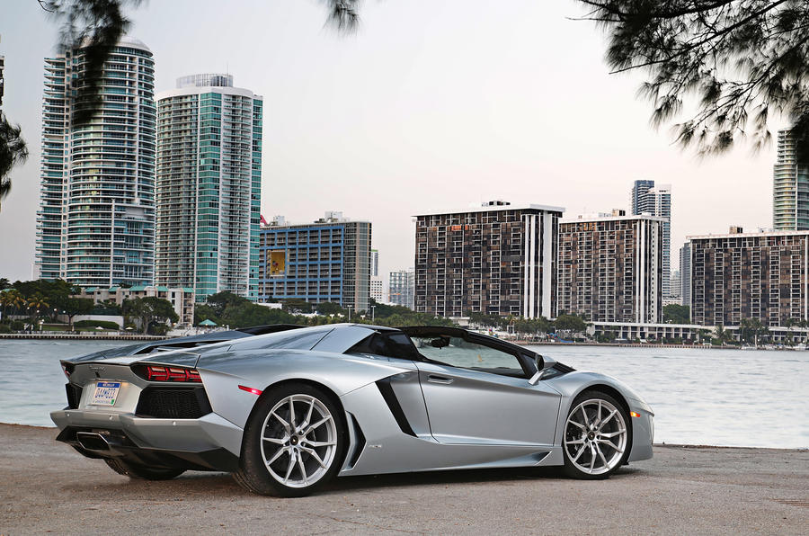Lamborghini Aventador Roadster Review 2017 Autocar