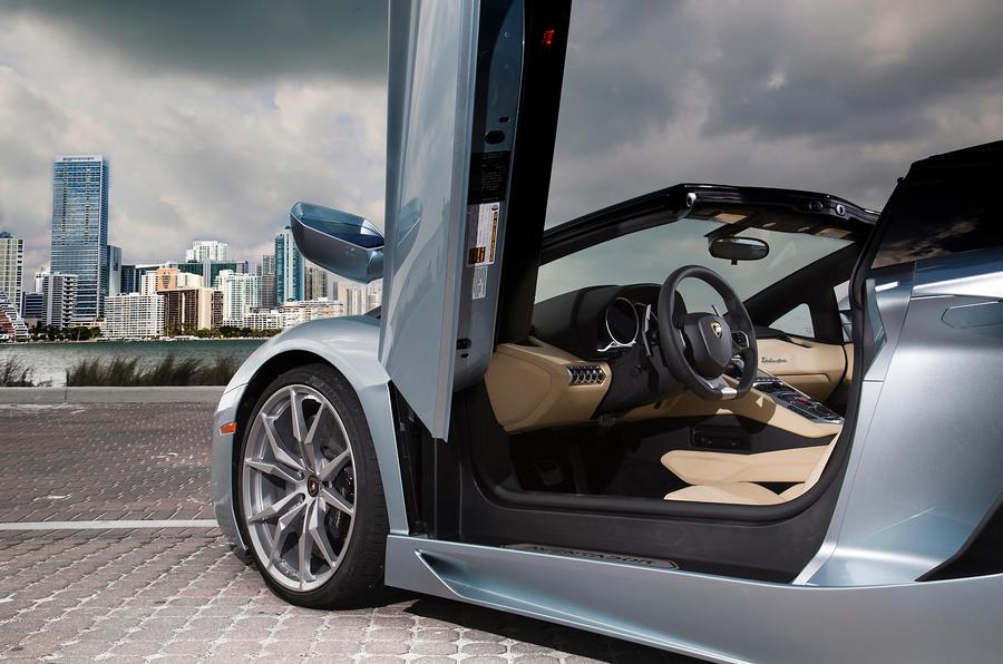 Lamborghini Aventador scissor doors