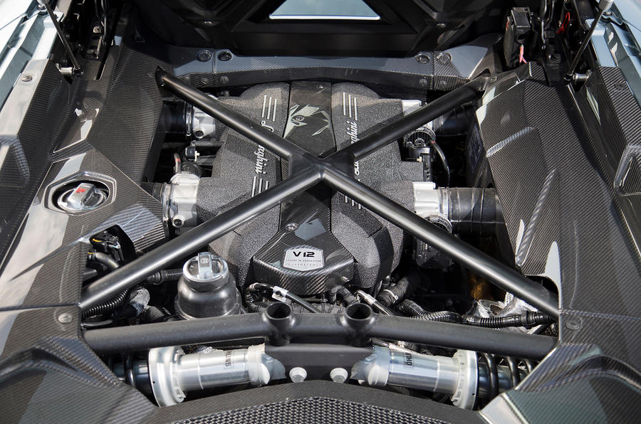 Lamborghini Aventador 6.5-litre V12 engine