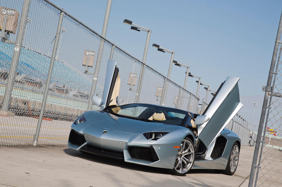 4 star Lamborghini Aventador Roadster