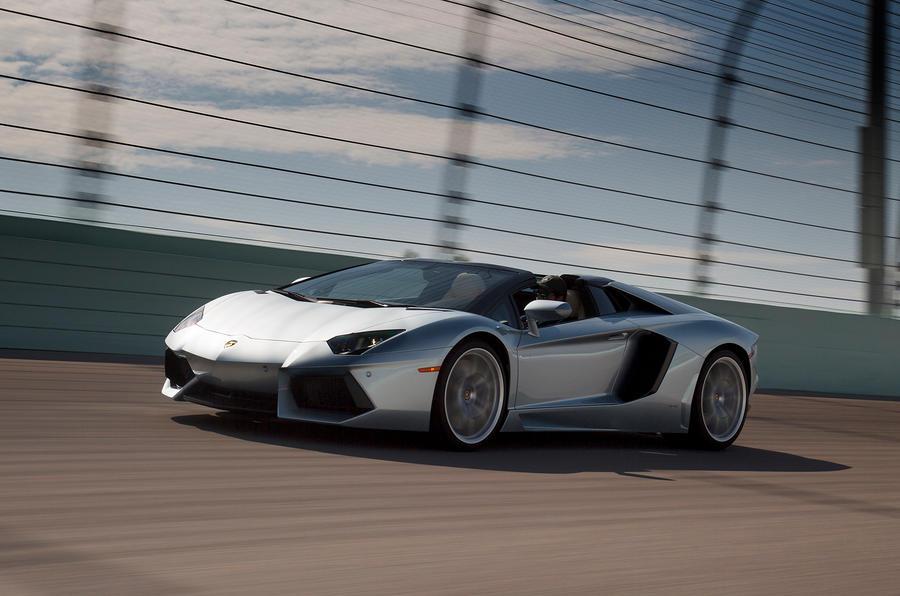 £288,840 Lamborghini Aventador Roadster