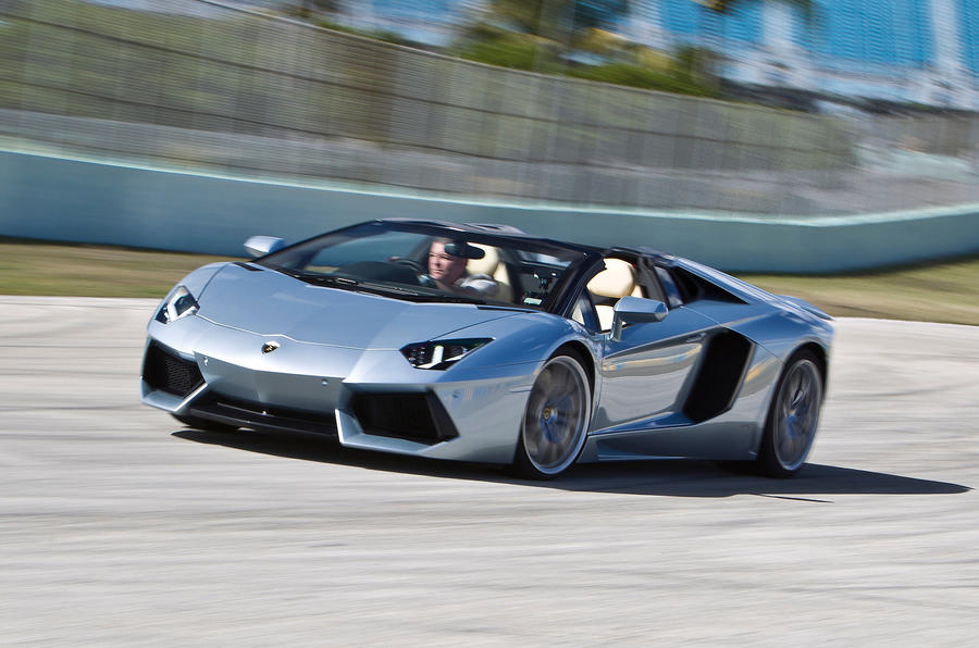 The 217mph Lamborghini Aventador Roadster