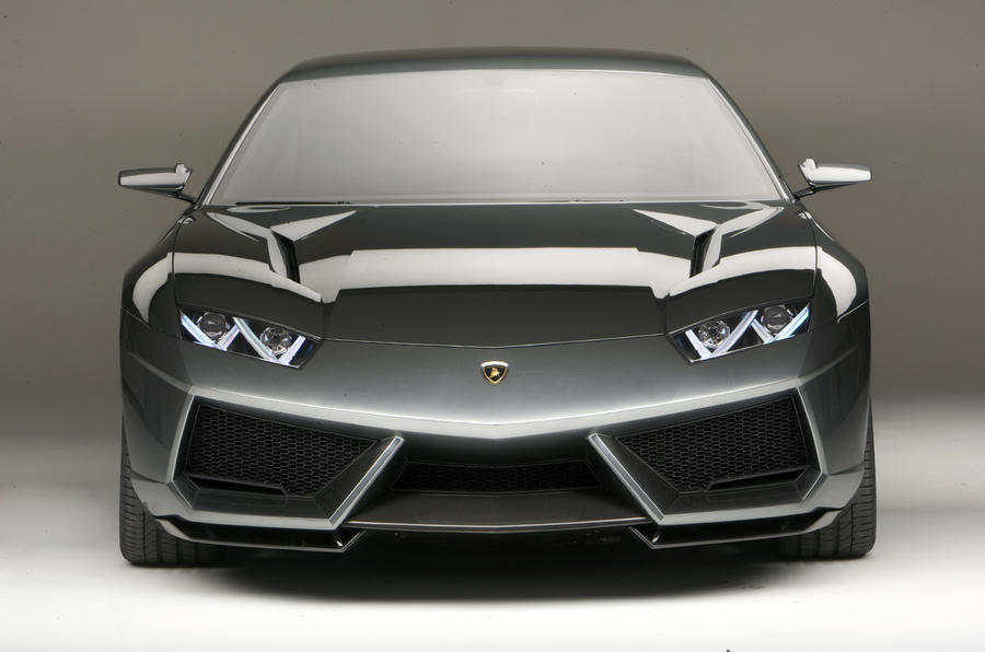 Lambo 4dr saloon is back on