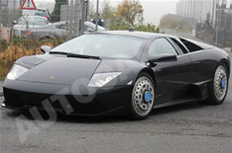 Spied: Lambo supercar