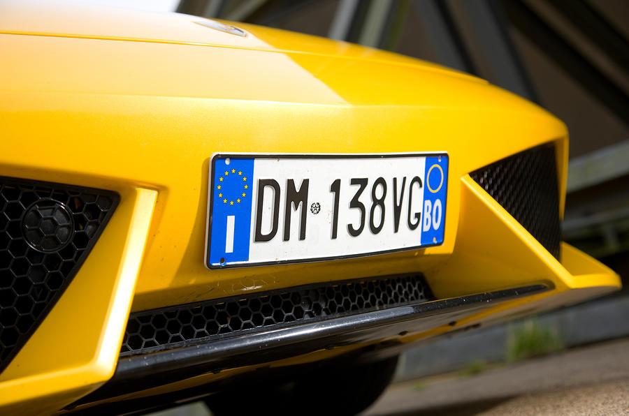 Lamborghini Gallardo front air intakes