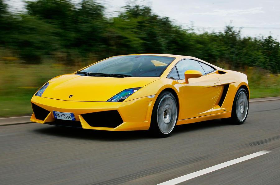 The 552bhp Lamborghini Gallardo