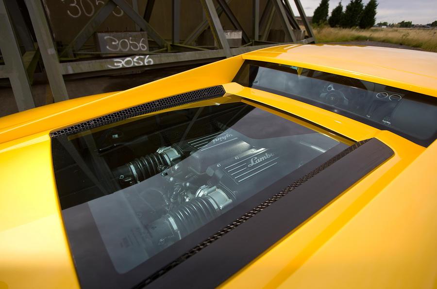 Lamborghini Gallardo 5.2-litre V10 engine