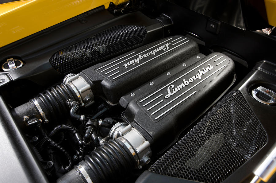 Lamborghini Gallardo direct injection V10 engine