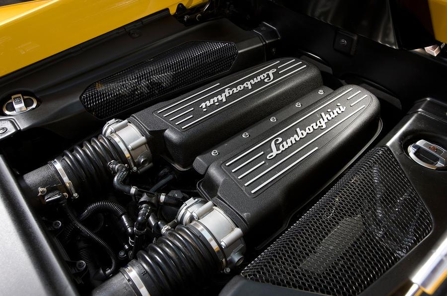 Lamborghini Gallardo direct injection V10 engine