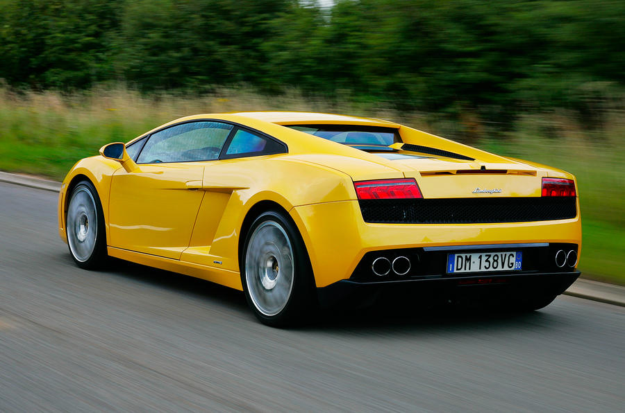 Lamborghini Gallardo rear quarter