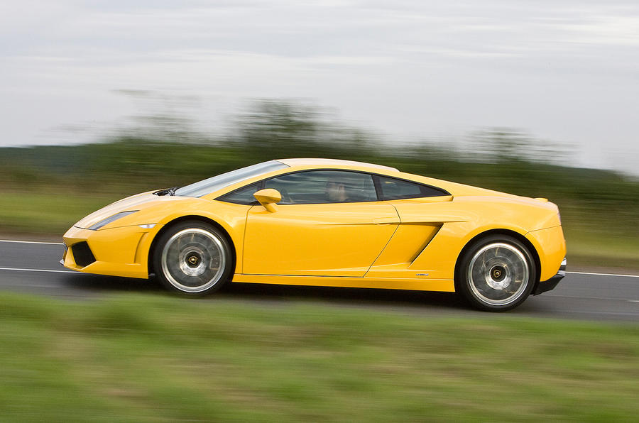 Lamborghini's AWD Gallardo supercar