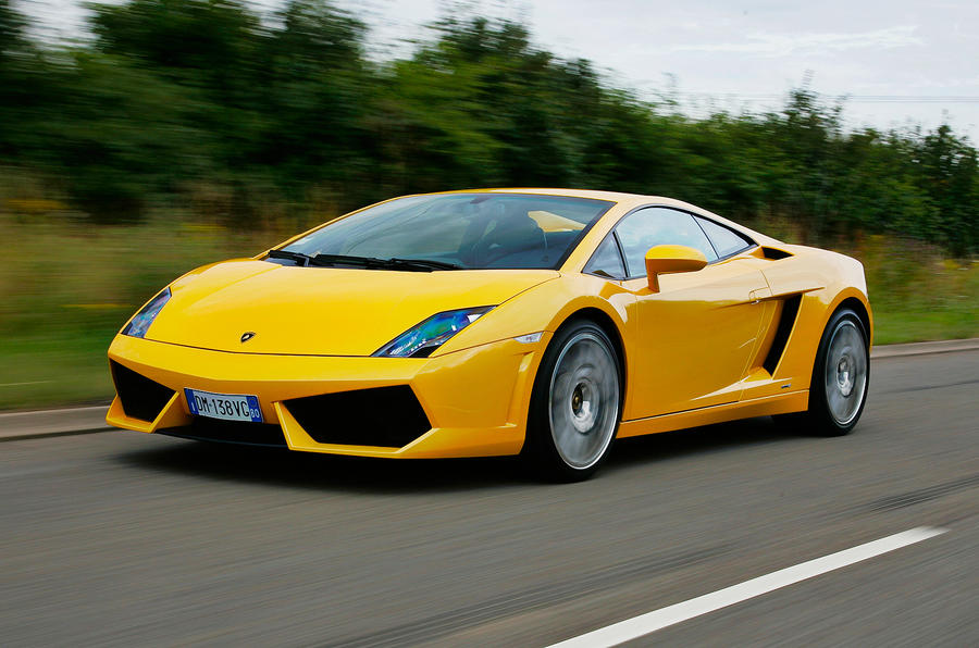 ... The 552bhp Lamborghini Gallardo ...