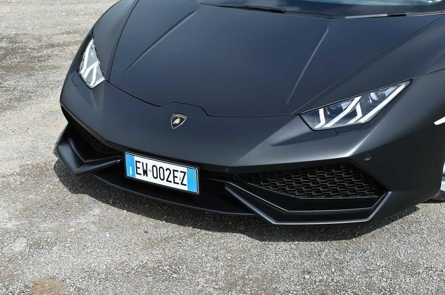 Lamborghini Huracan LP610-4 front end