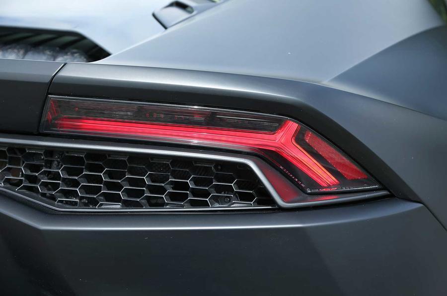 Lamborghini Huracan LP610-4 rear lights