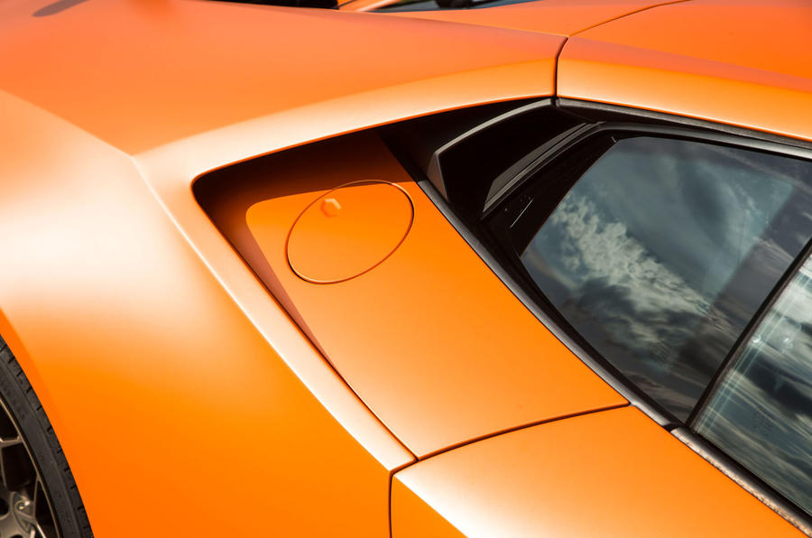 Lamborghini Huracán Performante air intake