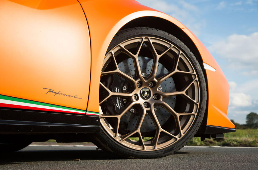 20in Lamborghini Huracán Performante alloy wheels