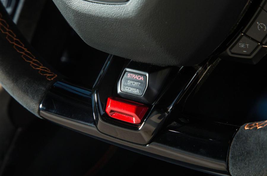 Lamborghini Huracán Performante driving modes