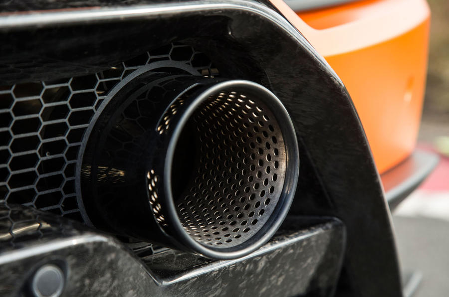 Lamborghini Huracán Performante sports exhaust system