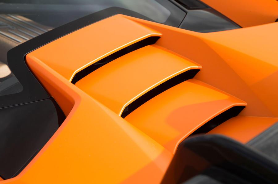 Lamborghini Huracán Performante engine vents