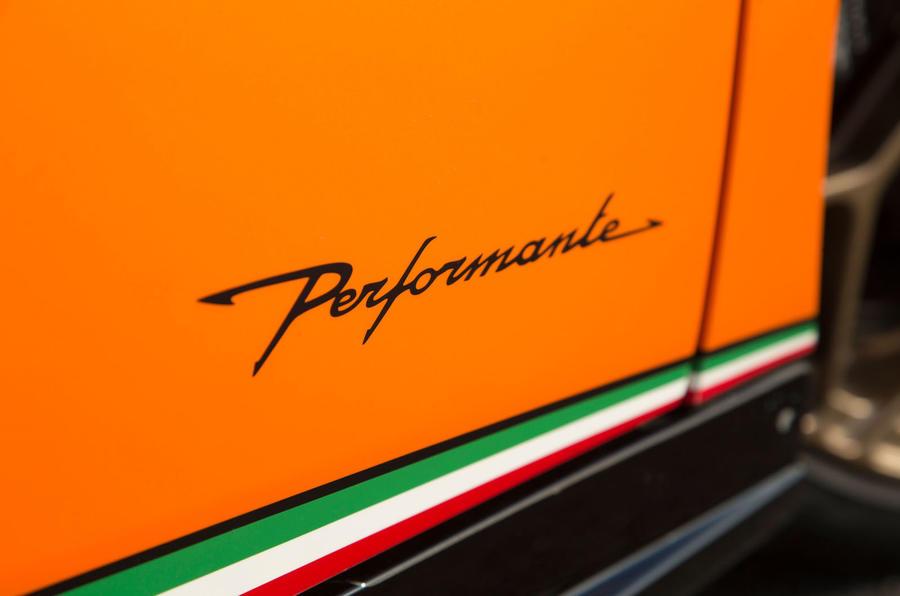 Lamborghini Huracán Performante exterior decals
