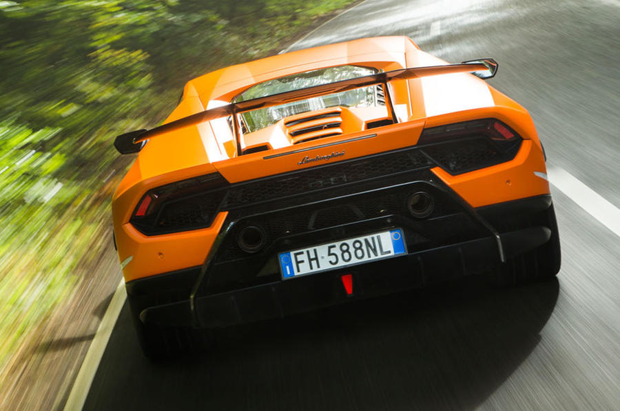 Lamborghini Huracán Performante rear end
