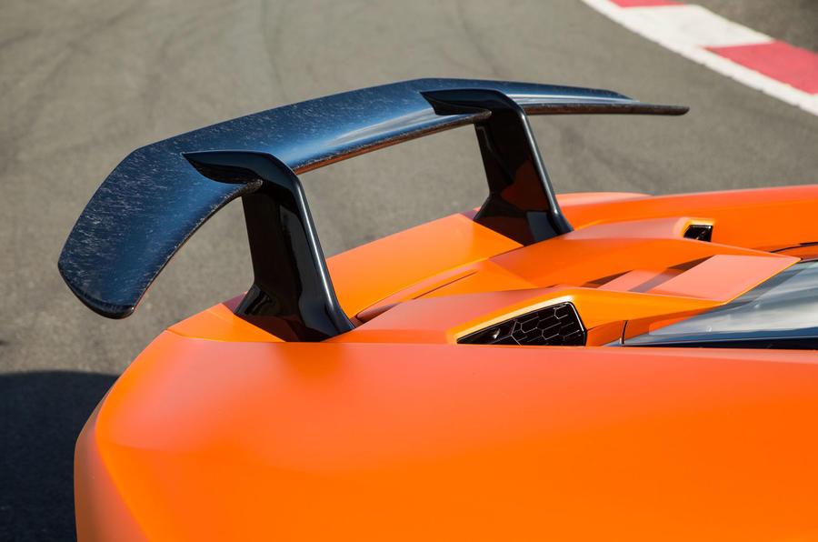 Lamborghini Huracán Performante rear spoiler