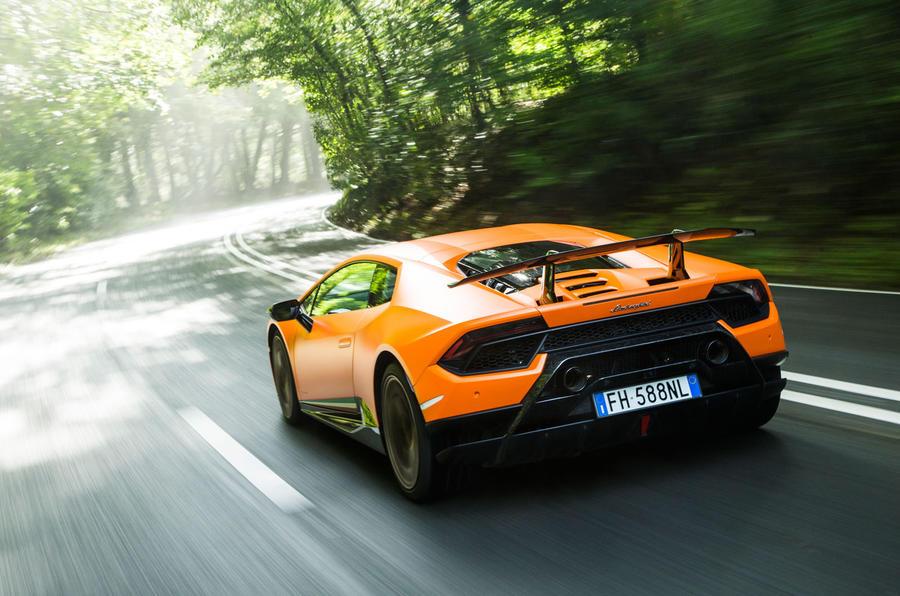 Lamborghini Huracán Performante rear