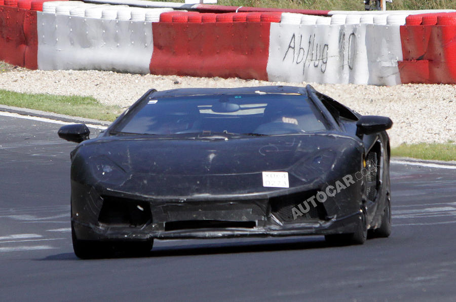 Lambo shows new Murciélago