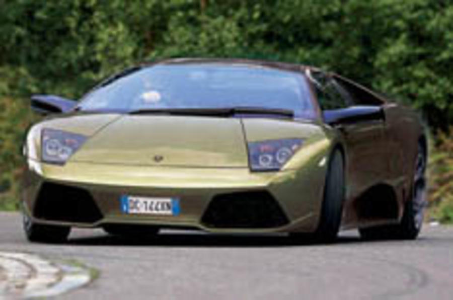 Lighter Murcielago here in '08