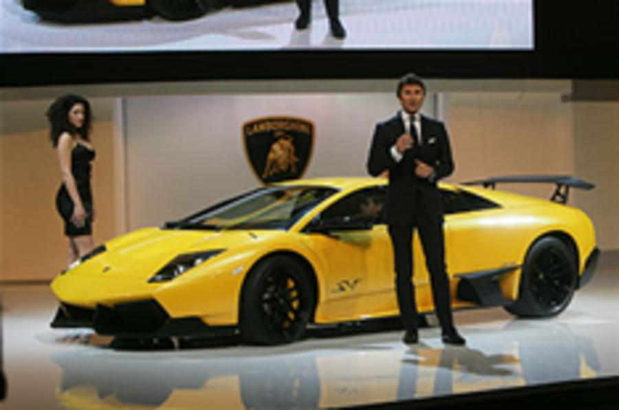 Lamborghini sales down 30%